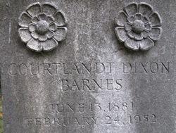 Courtlandt Dixon Barnes