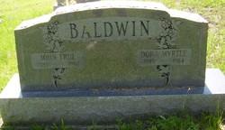 Dora Myrtle <i>Lemaster</i> Baldwin