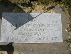 Williard C Henry