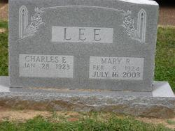 Mary Ruth <i>Adams</i> Lee