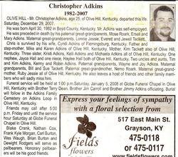 Christopher Adkins
