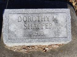 Dorothy M Shaffer