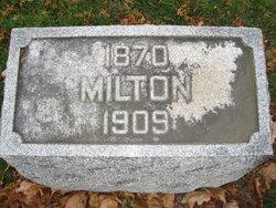 Milton William Cook