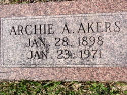 Archie A. Akers