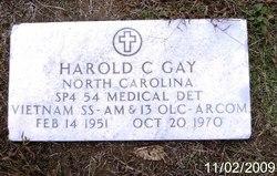Spec Harold Cornell Gay