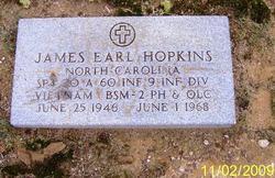 Spec James Earl Hopkins