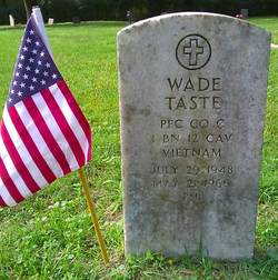 PFC Wade Taste