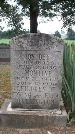 Roy Dee Harrington