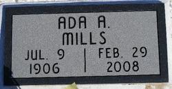 Ada Armilda <i>Vanderhoof</i> Mills