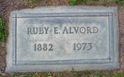 Ruby Evelyn <i>Bowen</i> Alvord