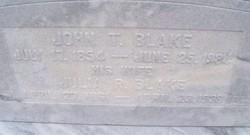 John T Blake