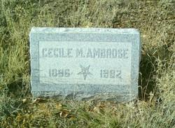 Cecile M Ambrose