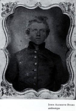 Pvt John Alemuth Byers