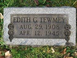 Edith Gertrude <i>Ackerman</i> Tewmey