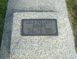 Lola Mary <i>Carson</i> Ashby