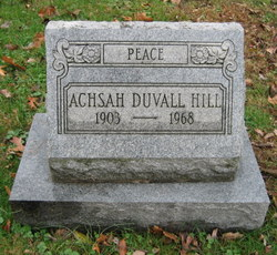Aschah <i>Duvall</i> Hill