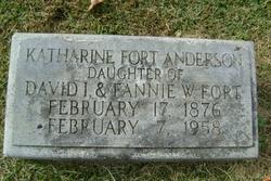 Katherine <i>Fort</i> Anderson