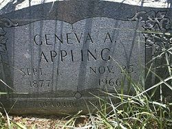 Geneva A Appling