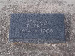 Ophelia <i>Raiford</i> Dupree