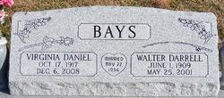 Virginia <i>Daniel</i> Bays