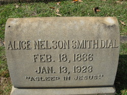 Alice Nelson <i>Smith</i> Dial