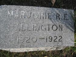 Marjorie R. E. Allington