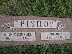 Minnie Estella <i>Rishel</i> Bishop