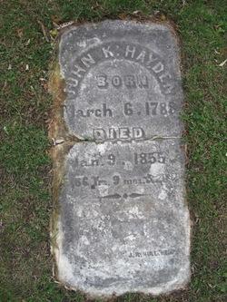 John K. Hayden