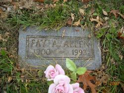 Fay A Allen