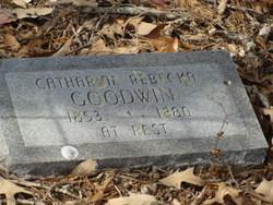 Catharine Rebecka <i>Roebuck</i> Goodwin