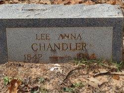 Lee Anna <i>Goodwin</i> Chandler