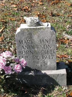 Mary Jane Anderson