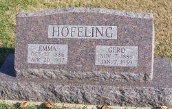 Emma <i>Meier</i> Hofeling