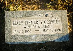 Mary <i>Finnerty</i> Crowley