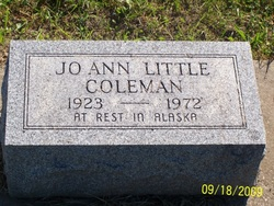 Jo Ann <i>Little</i> Coleman