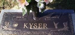 Marjorie M Kyser