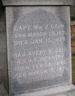 Capt William J. Cain