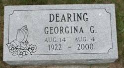 Georgina Gertrude <i>Boutlier</i> Dearing