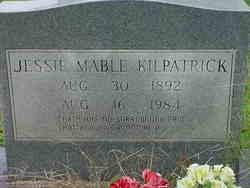 Jessie Mable <i>Anderson</i> Kilpatrick