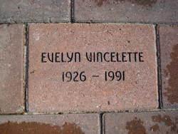 Evelyn <i>Vincelette</i> Cruzan