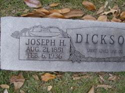Joseph Henry Dickson