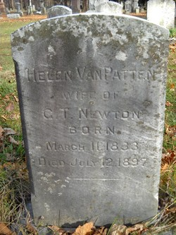 Helen <i>Van Patten</i> Newton