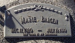 Mary Marie Marie <i>Thayer</i> Bargen