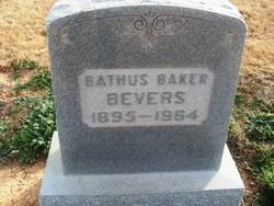 Georgia Bathus <i>Baker</i> Bevers