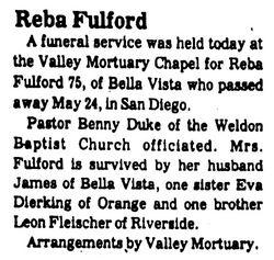 Reba Fulford