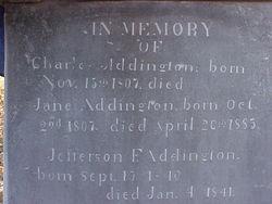 Charles Cromwell Addington, Jr