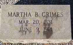 Martha L <i>Bowers</i> Grimes