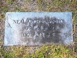 Neal Archie McNeill
