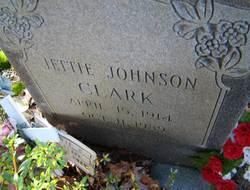 Jettie <i>Johnson</i> Clark