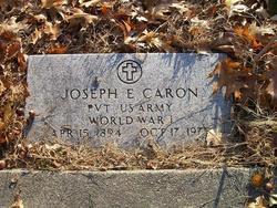 Pvt Joseph E Caron